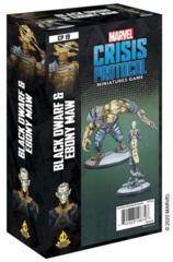 Marvel: Crisis Protocol Character Pack - Black Dwarf and Ebony Maw