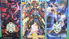 Cardfight!! Vanguard G: Technical Booster 02 The Genius Strategy - Sneak Preview Playmat
