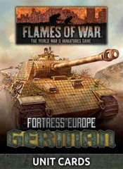 FW261G: Fortress Europe - German Unit Cards