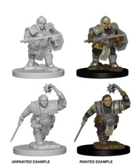 Nolzur's Marvelous Miniatures - Dwarf Fighter (Female)