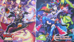 Cardfight!! Vanguard G: Character Booster 03 Rummy Labyrinth Under the Moonlight - Sneak Preview Playmat