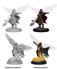 Nolzur's Marvelous Miniatures - Aasimar Wizard (Female)