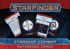 Starfinder Cards: Starship Combat Reference