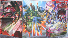 Cardfight!! Vanguard G: Technical Booster 01 The Reckless Rampage - Sneak Preview Playmat
