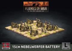 GBX146: 15cm Nebelwerfer Battery (Plastic)