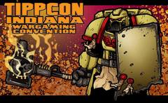 TippCon Gaming Convention Commemorative .. Unisex Black Tee-Shirt