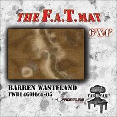 F.A.T. Mat: Barren Wasteland 6'x4'