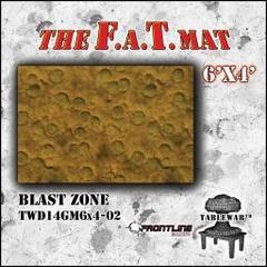 F.A.T. Mat: Blast Zone 6'x4'