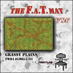 F.A.T. Mat: Grassy Plain 6'x4'