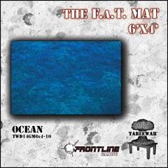 F.A.T. Mat: Ocean 6'x4'