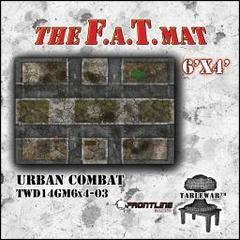 F.A.T. Mat: Urban Combat 6'x4'