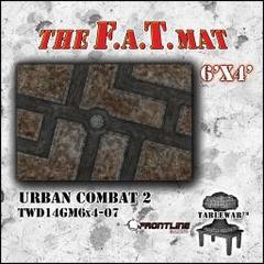 F.A.T. Mat: Urban Combat II 6'x4'