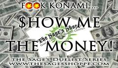 SPPM F**K Konami Sage's Duelist Series (Sage's Shoppe exclusive)