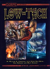 GURPS RPG 4th Edition: Low-Tech (hardback)