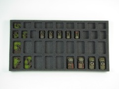 Flames of War: Generic 18 Troop 20 HQ Tray
