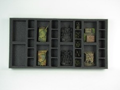 Flames of War: Generic 8 Artillery 20 Support Tray