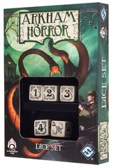 Arkham Horror Dice Set - Beige / Black