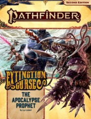 Pathfinder (2nd Edition) Adventure Path #156: The Apocalypse Prophet (Extinction Curse 6 of 6)