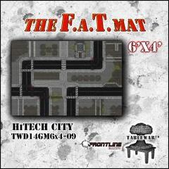 F.A.T. Mat: High-Tech City 6'x4'
