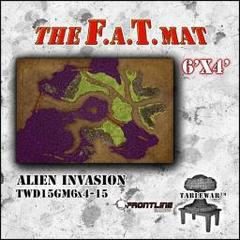 F.A.T. Mat: Alien Invasion 6'x4'