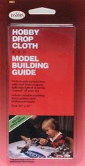 Testor Hobby Drop Cloth and Model Building Guide