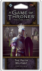 A Game of Thrones LCG (2nd Edition): Chapter Pack - The Faith Militant