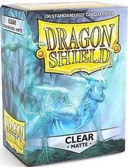 Dragon Shield, Matte Clear, 100-count box
