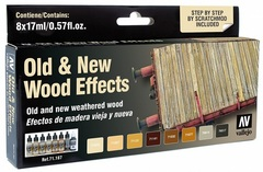 Set: Old & New Wood Effects (8x17ml) - AV 71187