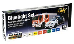 Set: Bluelight Emergency Vehicle Colors (8x17ml) - AV 71154
