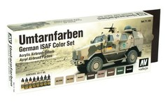 Set: German ISAF colors (8x17ml) - AV 71159