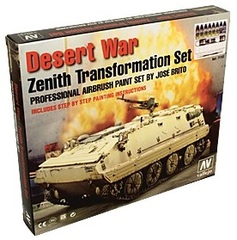 Set: Desert War, Zenith Transformation (paints, brush, pigments) - AV 71153