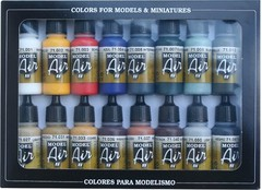 Set: Basic Colors (16x17ml) - AV 71178