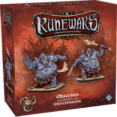 Runewars Miniatures Game: Uthuk - Obscenes Unit