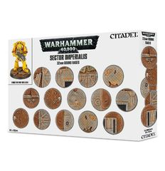 Sector Imperialis: 32mm Round Bases 66-91