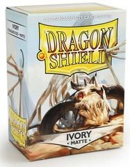 Dragon Shield, Matte Ivory, 100-count box