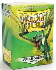 Dragon Shield, Matte Apple Green, 100-count box