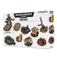 Warhammer 40K - Hero Bases