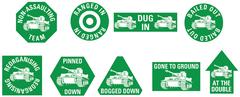 TK030: Green Token Set