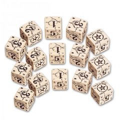 Battle Dice Set - American (Beige)