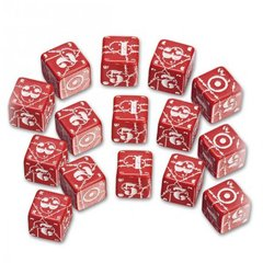 Battle Dice Set - British (Red)