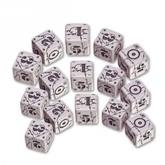 Battle Dice Set - British (Grey)