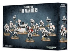 T'au Empire - Fire Warriors Strike Team / Breacher Team (2018)