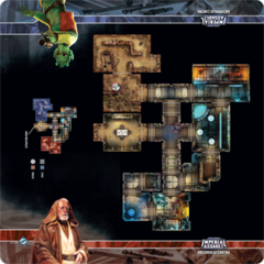 Star Wars: Imperial Assault -  Skirmish Map - Anchorhead Cantina