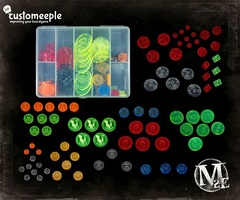 Customeeple Marker: Boxed Set - Ten Thunders (81)