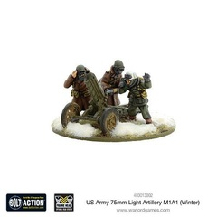 US: Army 75mm Light Artillery M1A1 (Winter)
