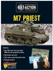 US: M7 Priest self-propelled gun