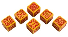 Battletech 6d6-Dice Set - House Davion