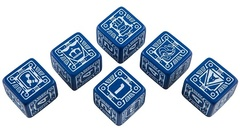 Battletech 6d6-Dice Set - House Steiner