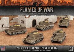 UBX50: M3 Lee Tank Platoon (plastic)