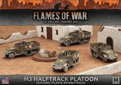 UBX57: M3 Halftrack Platoon